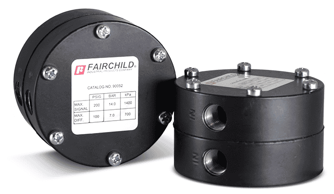 Model 90 Low Pressure Selector Relay