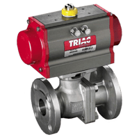 FD9 Series 300# Flanged Automated Ball Valve