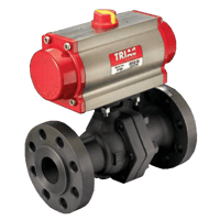 FD9 Series 600# Flanged Automated Ball Valve