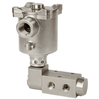 BXS 5/2 Pilot-Operated Direct-Acting Solenoid Valve