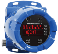 PD8-6262 ProtEX-MAX Explosion-Proof Dual Analog Input Flow Rate/Totalizer