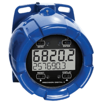 PD6820 ProtEX-RTA Explosion-Proof Loop-Powered Flow Rate/Totalizer