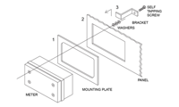 PDA6624 Panel Mounting Kit for PD662