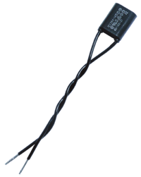 PDX6901 Snubber 0.01μF/470Ω Flexible Leads