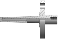 Heavy-Duty Flanged Thermowells