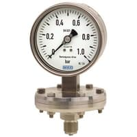 Model 432.56, 432.36 Diaphragm Pressure Gauge with Switch Contact
