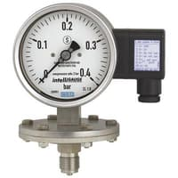Model PGT43.100, PGT43.160 Diaphragm Pressure Gauge with Output Signal