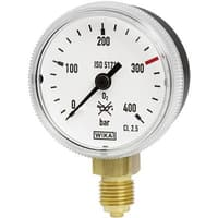 Bourdon Tube Pressure Gauge, Copper Alloy - 111.31