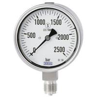 Bourdon Tube Pressure Gauge, Stainless Steel - NewPG23HP-S