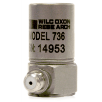 Model 736/736T Compact High Sensitivity High Frequency Accelerometer